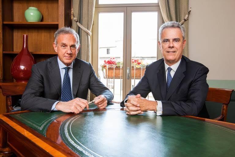 Attilio Arietti e Giovanni Cavallini