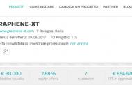 Graphene-XT raccoglie offerte per oltre 650 mila euro in 48 ore nella campagna su Mamacrowd