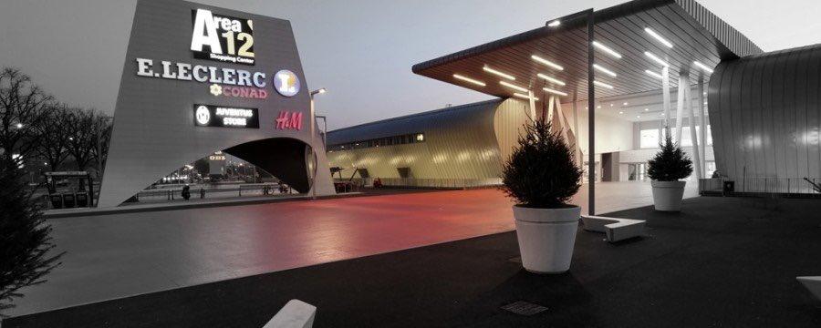 Torino.Centro Commerciale AREA 12 SHOPPING CENTER.