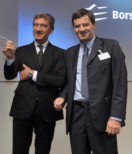 Gino Lugli e Luca Giacometti