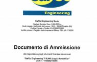 Safco Engineering colloca 4 mln euro di minibond a Riello sgr e Confidi Systema