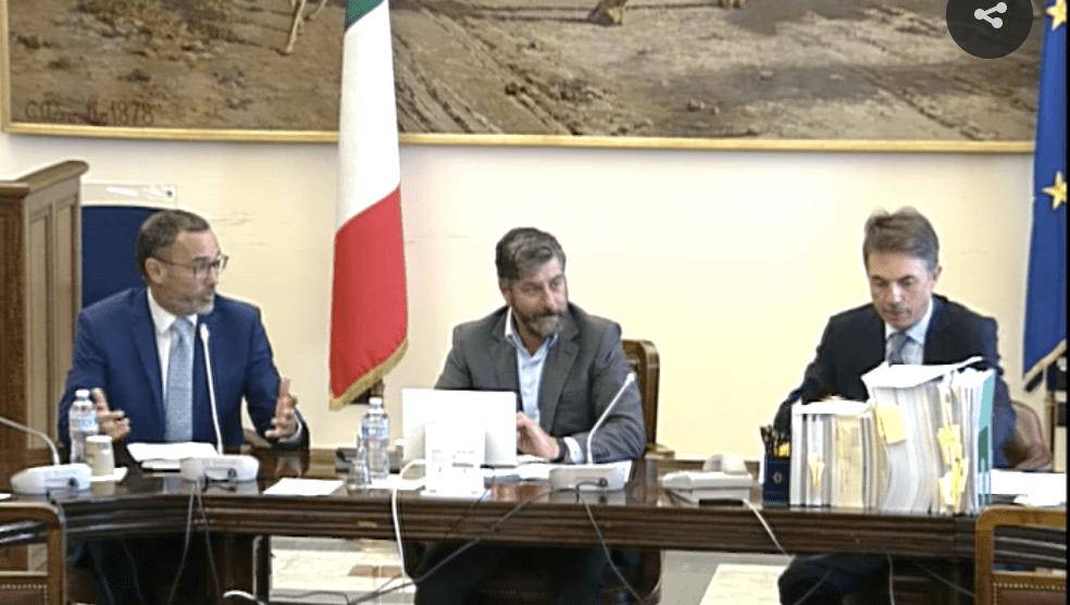 Da sin Paolo Galvani (presidente Moneyfarm) e Maurizio Bernardo (Presidente della Commissione Finanze)