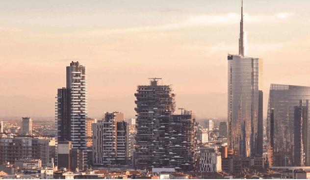 L'area di Milano Porta Nuova