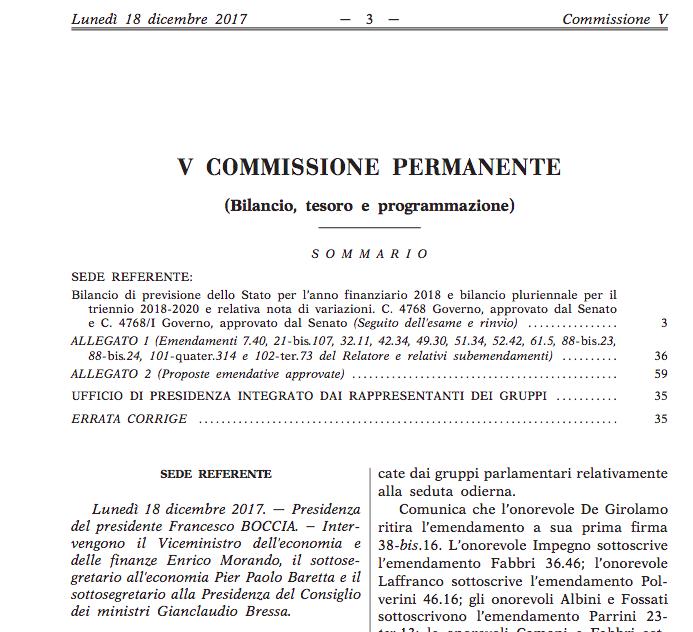 Fintech chi presta online sar tassato al 26 passa for Commissione bilancio camera