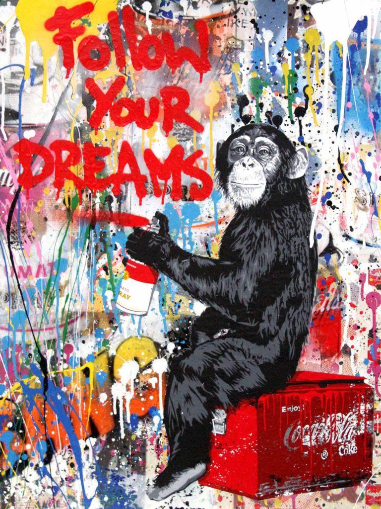 Mr. Brainwash_Everyday Life_2017_tecnica mista su carta_cm 127x96,5