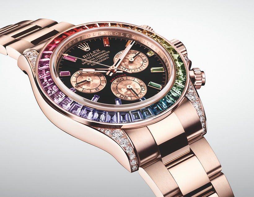 """37459b50bc6 Non ci sono troppi Rolex moderni che diventano oggetti di culto quasi  istantaneamente – Il """"Rainbow Daytona"""" è il modello che ha compiuto  l impresa."""