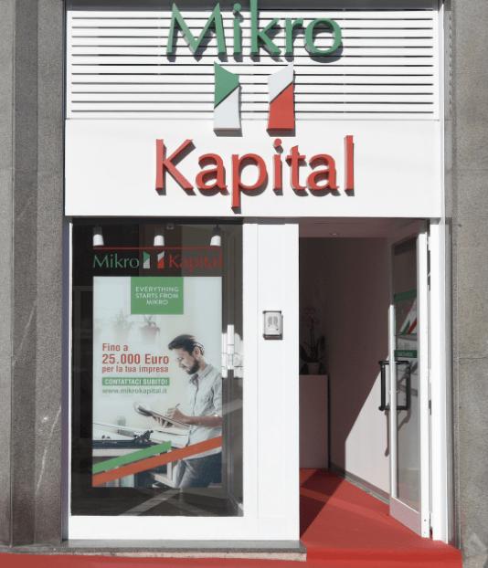 La sede di Mikro Kapital spa in corso Lodi a Milano