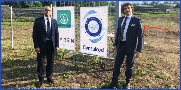 Da sin Massimo e Andrea Tortorella, rispettivamente presidente di Consulcesi Group e ceo di Consulcesi Tech