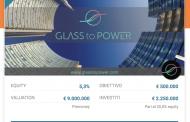 GlassToPower raccoglie 2,25 mln su CrowdFundMe. Che intanto firma con Directa sim per sviluppare il secondario