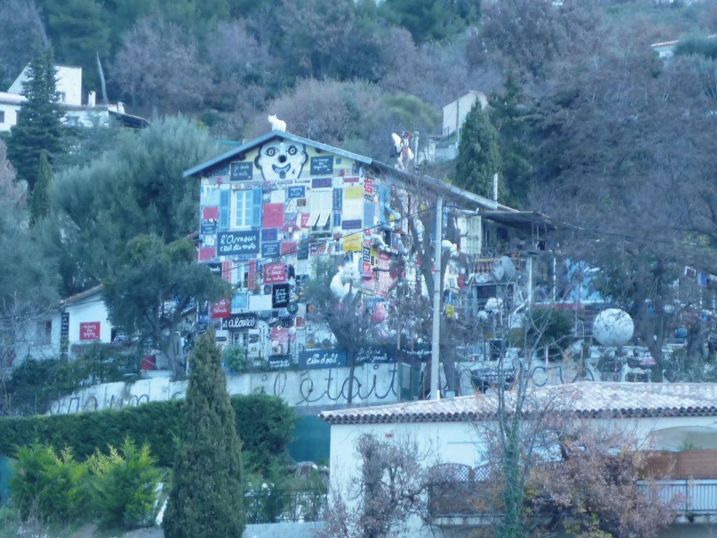 Casa di Ben Vautier, Saint-Pancrace (Francia), gennaio 2011