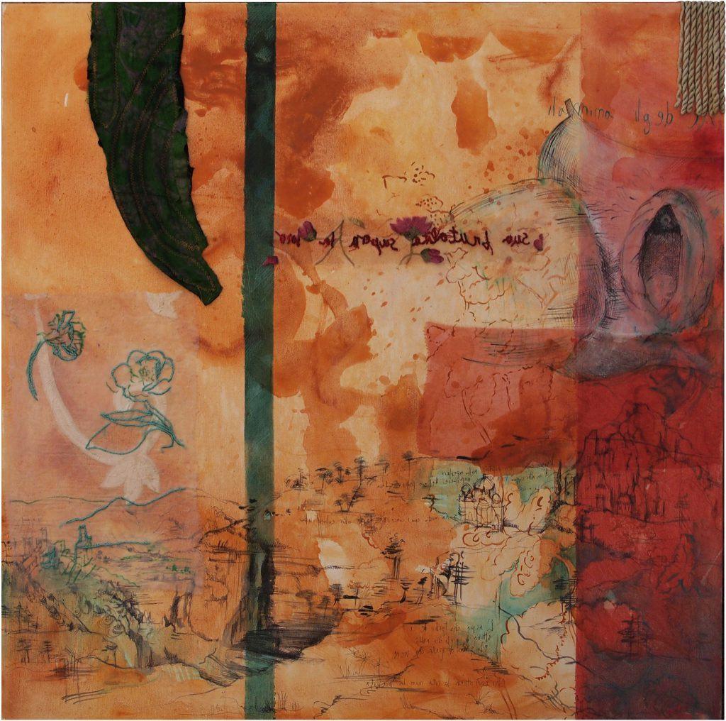 leonardo Loredana Galante 1 - 80x80 cm