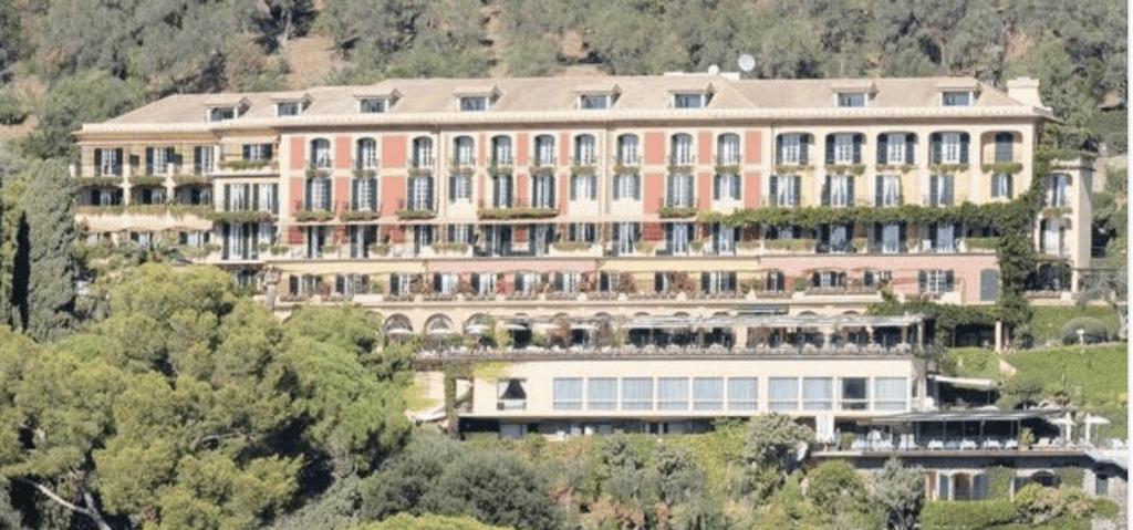L'hotel Splendido a Portofino