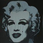 Warhol Marilyn 1967 cm 91,4×91,4
