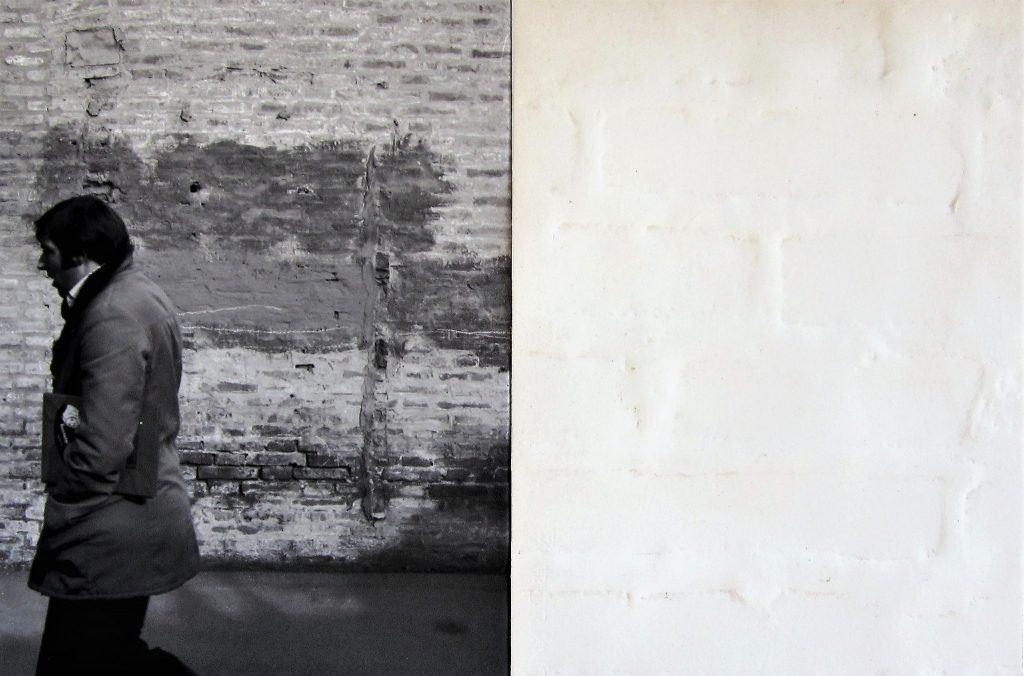Maurizio Camerani, Furti di paesaggio, performance urbana n62, 1976