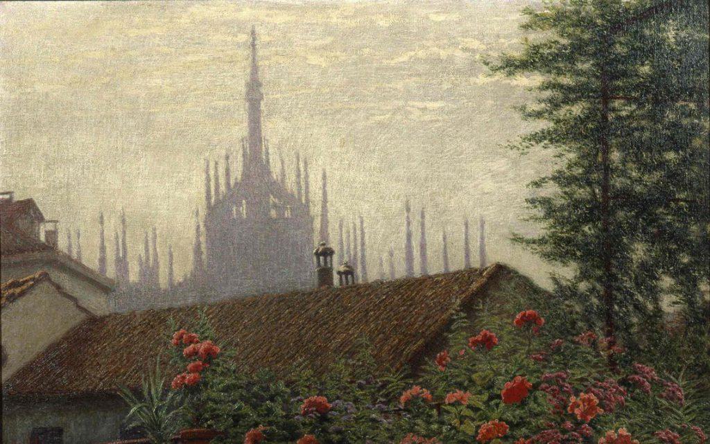 veduta del Duomo a Milano