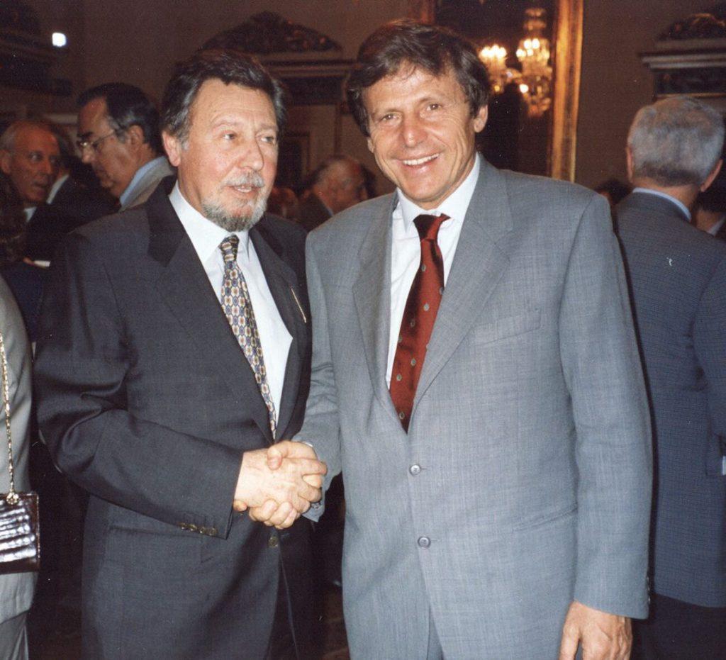 Antonio Mormone con Uto Ughi