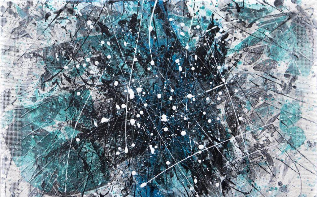 Elisa Madeo, Neurorehab#10, 80x60cm, Tecnica mista, 2019