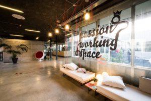 Il coworking di Talent Garden in via Calabiana a Milano