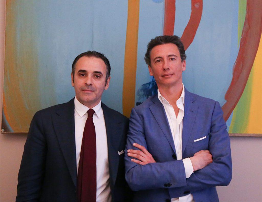 Emanuele Ottina ed Evarist Granata