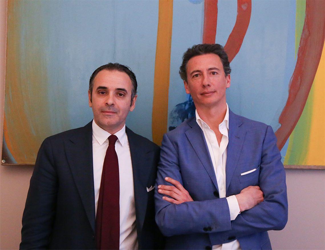 I cofondatori di Acp sgr: Evarist Granata ed Emanule Ottina