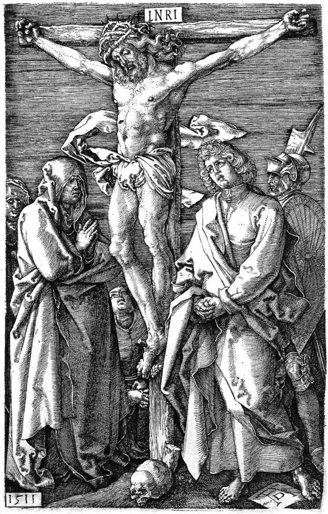 Albrecht Durer Piccola Passione Incisa-La Crocefissione