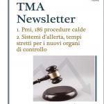 Procedure concorsuali, da inizio anno novità per 186 aziende. Nella newsletter TMA di aprile