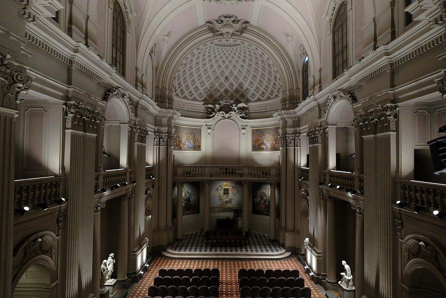 PRESSPHOTO Firenze, Fondazione Zeffirelli, Presentazione, delrestauro del ex palazzo di giustizia Foto Gianluca Moggi/Newpressphoto