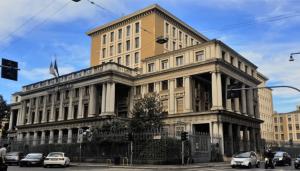 L'edificio di via Montebello 18 a Milano