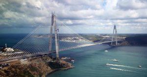 Il ponte sul Bosforo realizzato da Astaldi