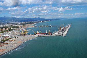 Il porto di Massa Carrara