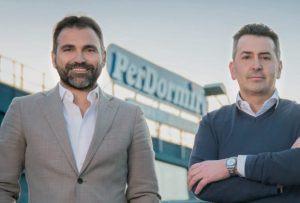 Antonio Caso e Paolo Luchi, rispettivamente ad e Direttore Commerciale e Marketing di Materassificio Montalese