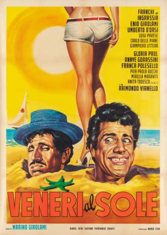 Veneri al sole_1964_Regia Marino Girolami_lancio