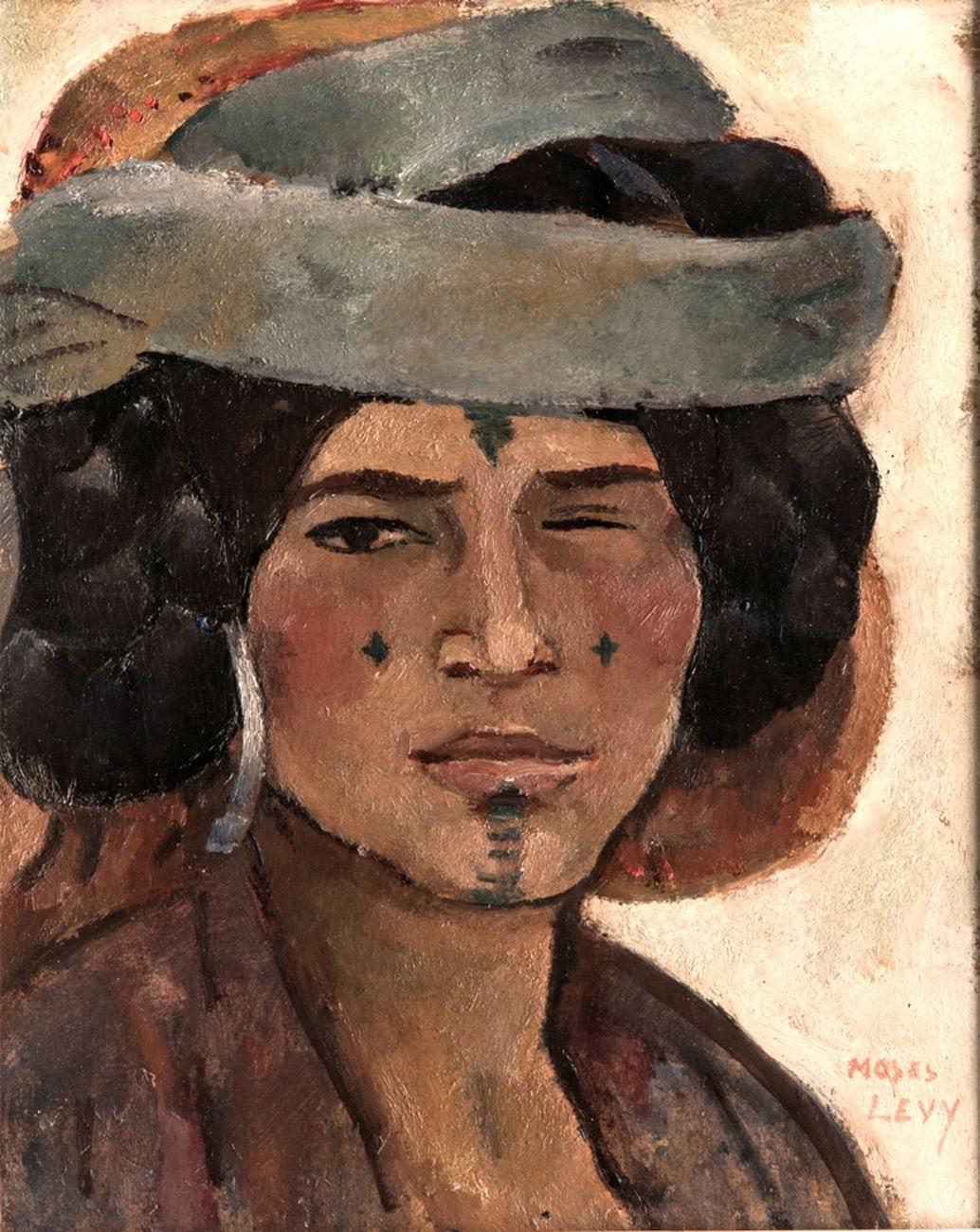 Moses-Levy-Beduina-cieca-1925.-Collezione-privata