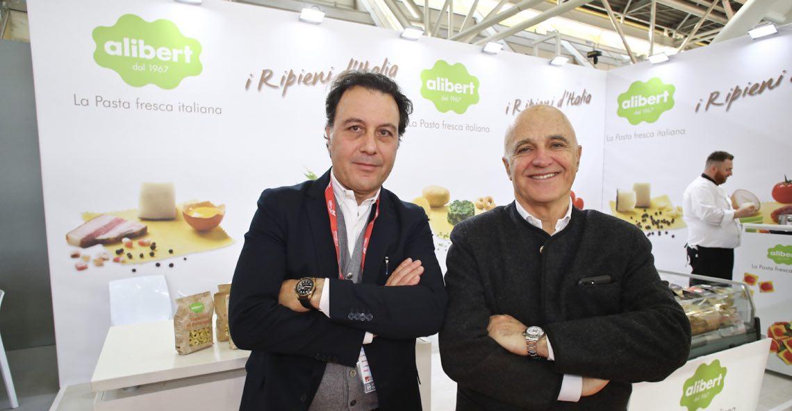Pierluca Mazzetti e Valentino Fabbian, rispettivamente direttore generale e presidente di Alibert 1967 spa