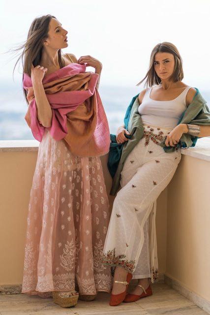 Allegra e Bianca in Tulsi