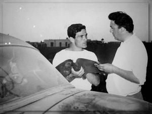Pier Paolo Pasolini e Federico Fellini