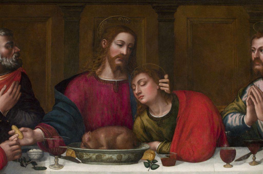 Cristo e San Giovanni, post-restauro. Foto: Rabatti & Domingie