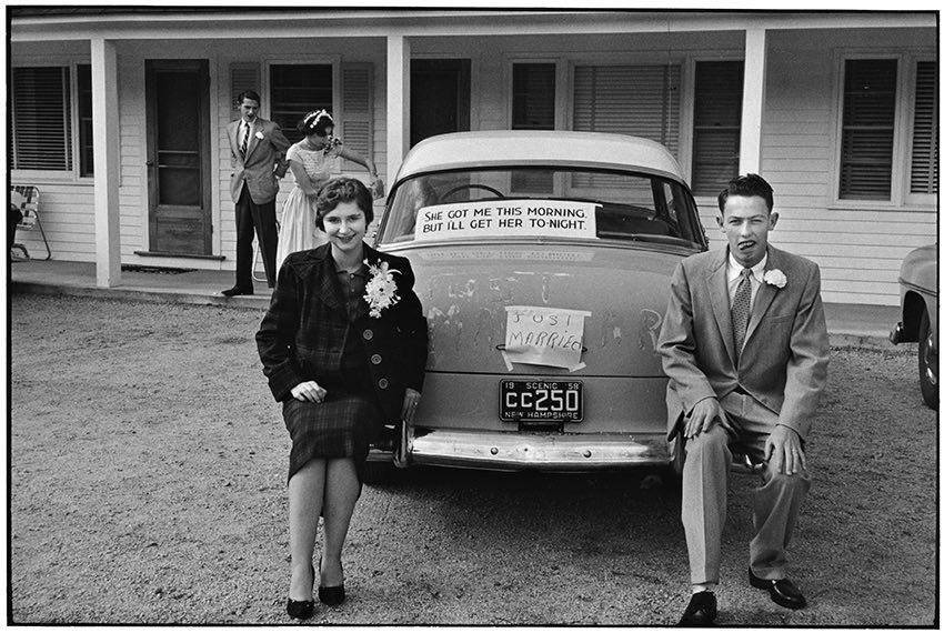 Autore: Elliott Erwitt New Hampshire, USA, 1958 © Elliott Erwitt