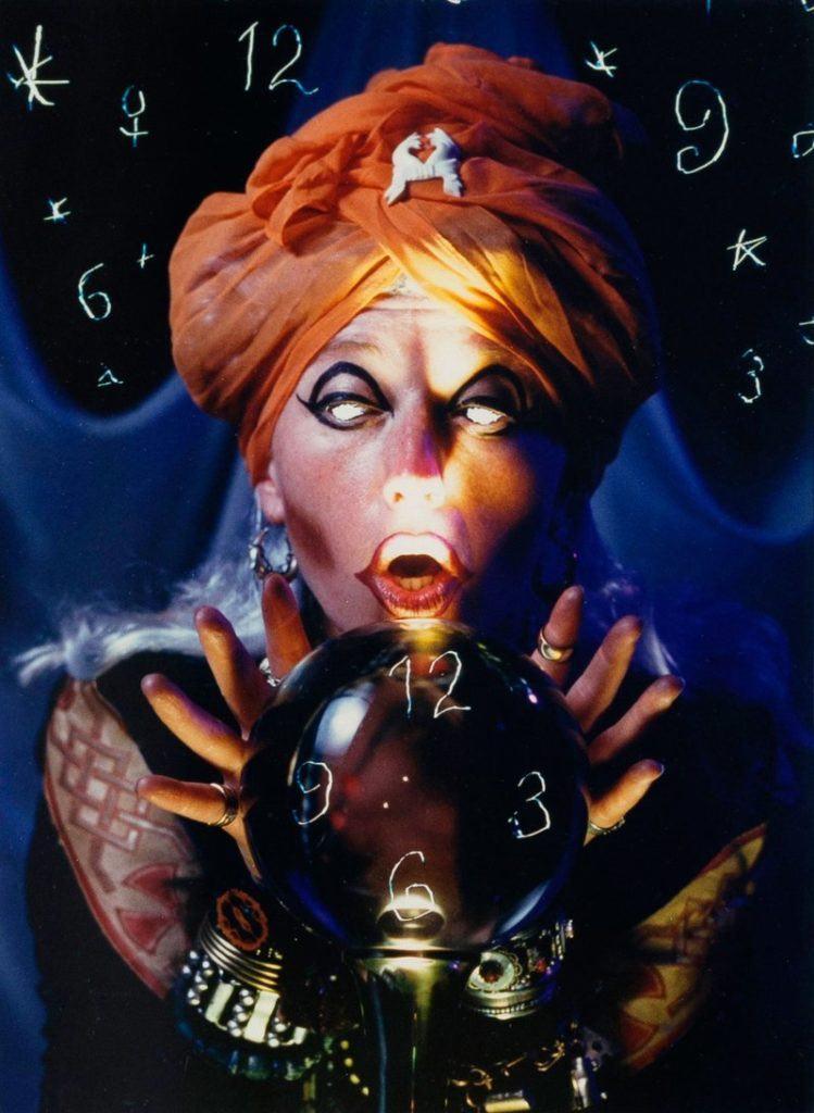 Cindy Sherman, Fortune Teller (1993). Courtesy of artnet Auctions.