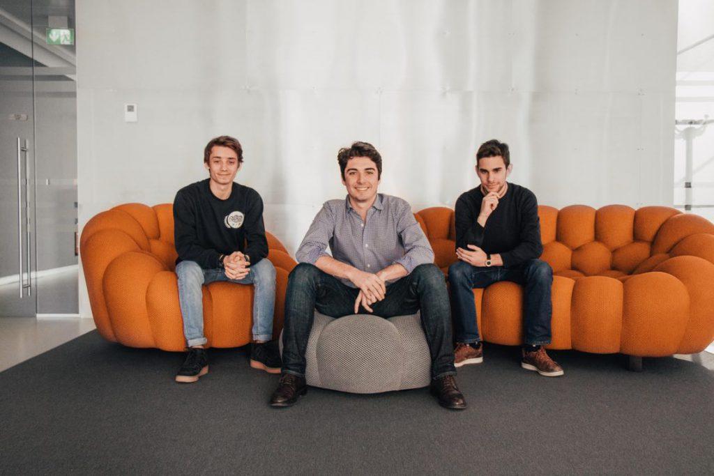 Da sinistra, Matteo Giardino (Cto di WeStudents), Giorgio Morelli (Ceo), Matteo De Lucia (Head of Product)
