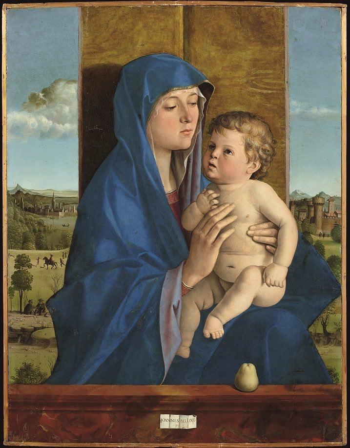 Bellini Madonna di Alzano (1)