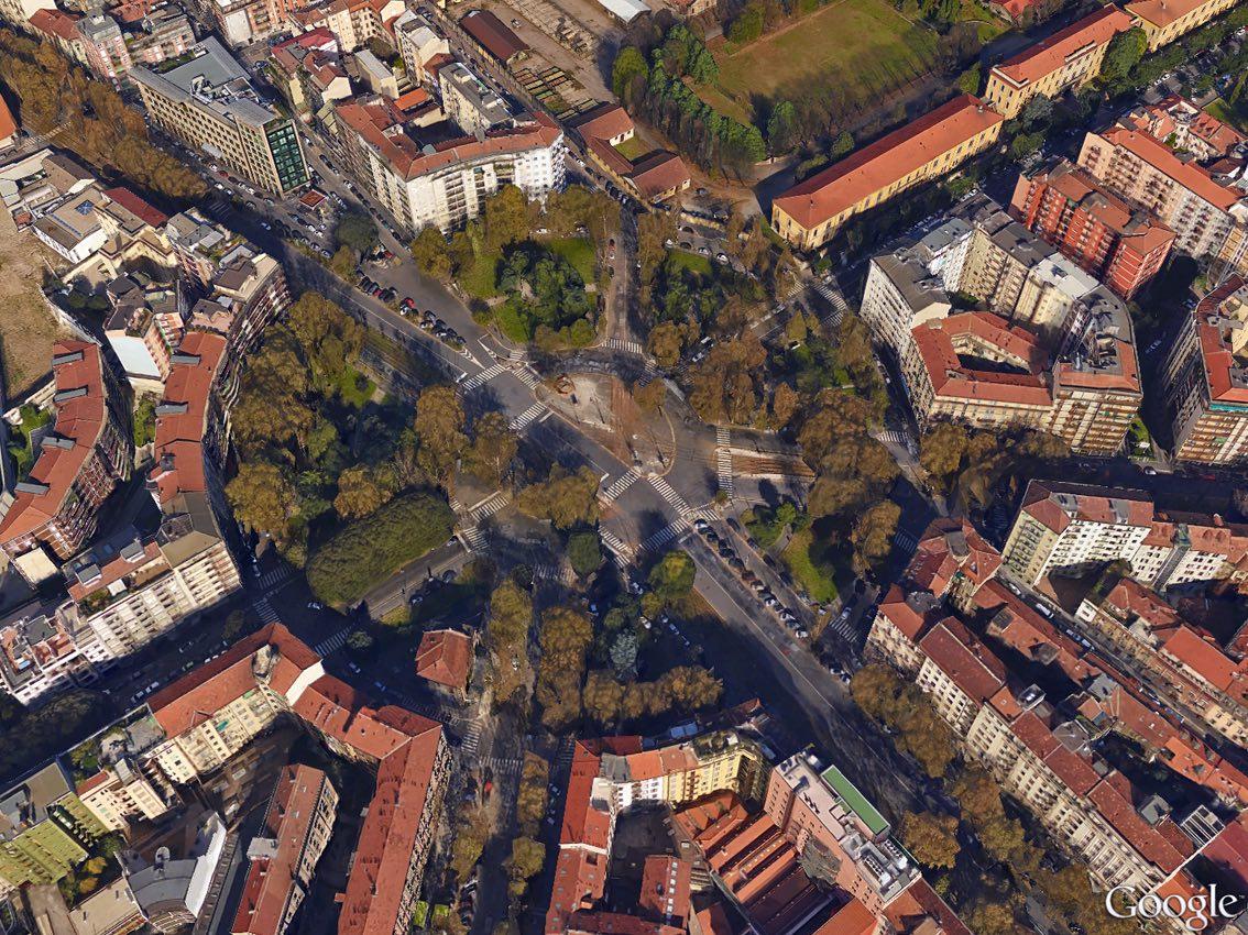 Piazza Firenze a Milano
