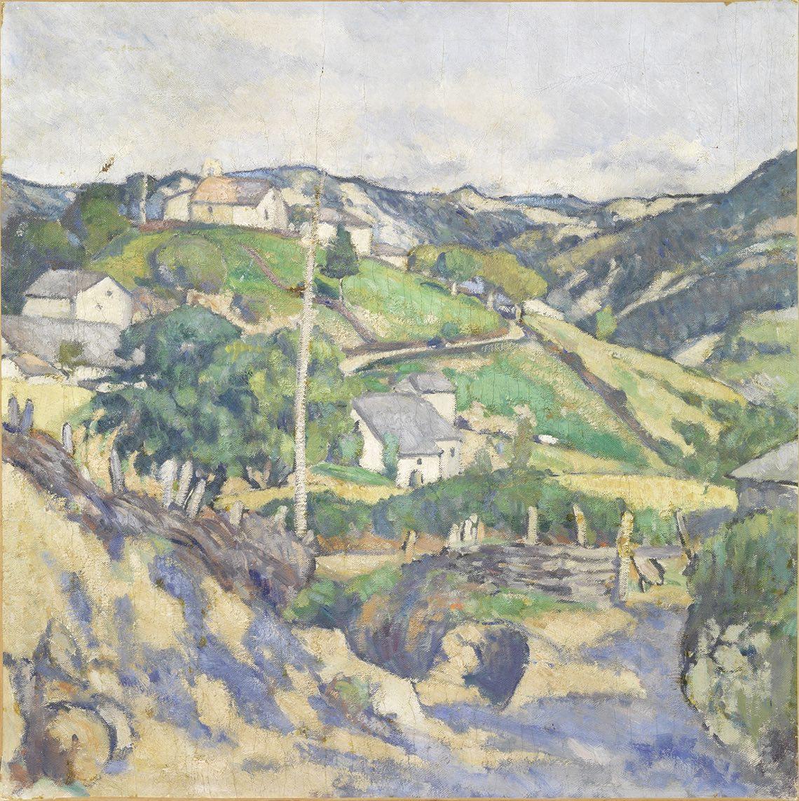 Soffici Ardengo_Bulciano_1909_olio su tela_70 X 70 cm alta