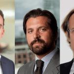 Da sinistra, Marco Anatriello (Bluegem), Vito Luca Lo Piccolo (Gruppo Cdp) e Giacomo Sella (Banca Sella Holding)