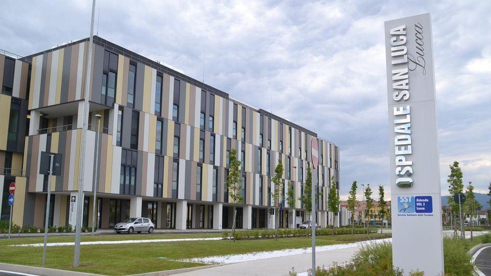 L'ospedale di Lucca