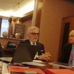 Da sinistra, Alberto Vigorelli, Sergio Bommarito e Claudio Manetti