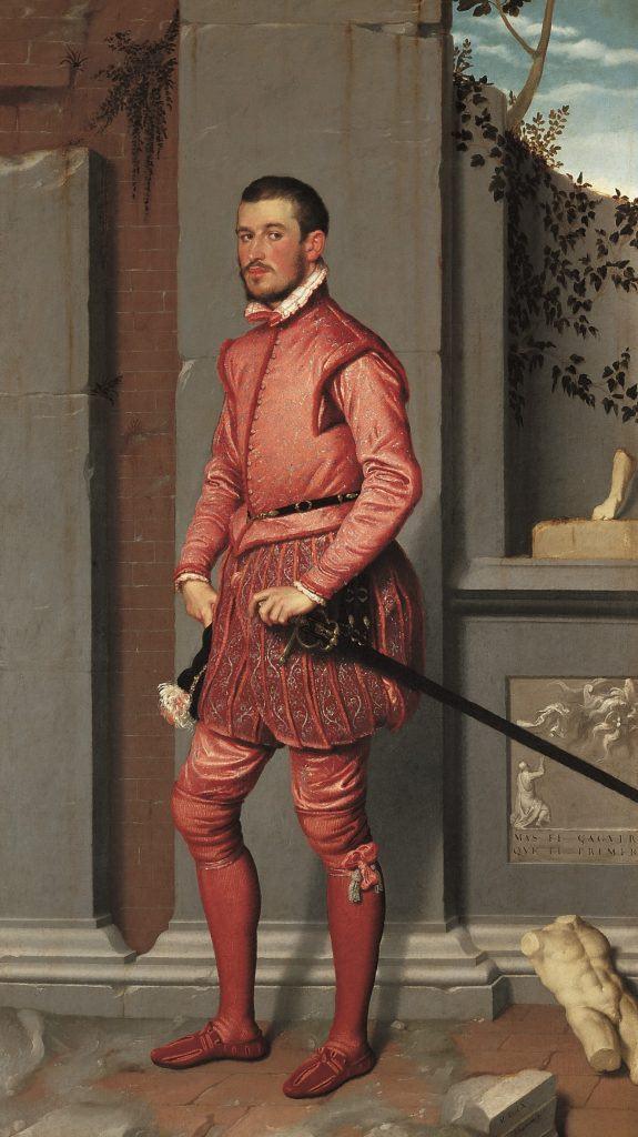 Giovan-Battista-Moroni-Il-cavaliere-in-rosa-1560-olio-su-tela-216-x-123-cm-1-575x1024