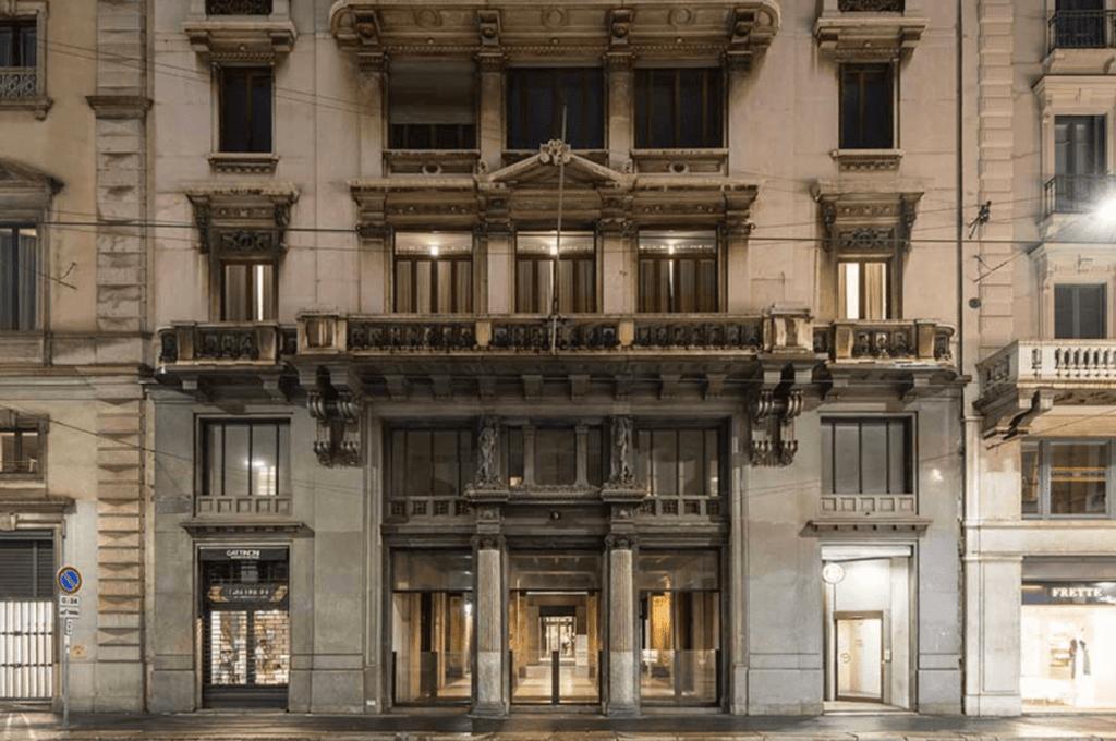 L'ex sede Ifil in via Manzoni 9. Milano