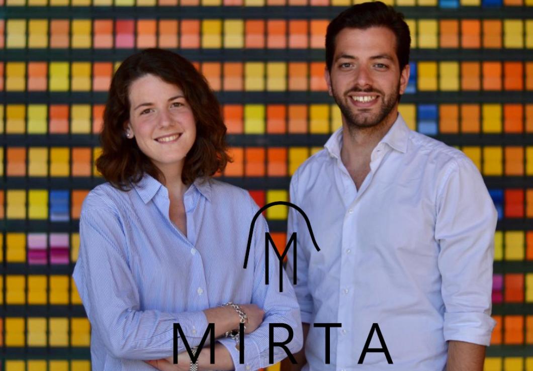 Martina Capriotti e Ciro Di Lanno, fondatori di Mirta
