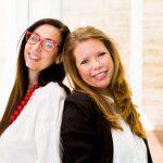 Mara Marzocchi e Chiara Russo, cofondatrici di Codemotion